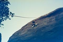 Stoney Point (wrenee.com) Tags: 2020 camping climbing joshuatree kodak200 pentaxuc1