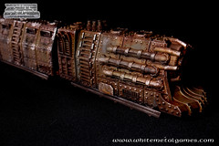 War Layer Armored Sci-Fi Train