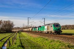 16 février 2020 BB 75440 Train 468288 St-Pierre-des-Corps -> Vierzon Méry-sur-Cher (18) (Anthony Querleau) Tags: cher bb75400 bb75000 bb75440 ferroviaire france fret sncf train