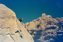 Nick at Stoney Point (wrenee.com) Tags: 2020 camping climbing joshuatree kodak200 pentaxuc1