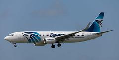 B737   SU-GDY   AMS   20150505 (Wally.H) Tags: boeing 737 boeing737 b737 sugdy egyptair ams eham amsterdam schiphol airport