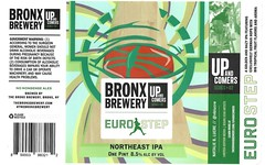 EURO STEP by Natalie B. Lucre for The Bronx Brewery (Label_Craft) Tags: beer beers craftbeer brew suds ale hops labels craft labelcraft beerlabel design illustration type fonts burp beerme brewery bronx bronxbrewery ipa neipa dipa iipa upandcomers artistseries nyc nycbeer