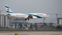 Delivery flight - El Al B738, 4X-EKK, WOE-TLV (LLBG Spotter) Tags: elal aircraft tlv 4xekk airline b737 llbg
