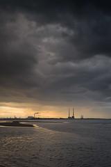 Moody skies over Poolbeg (Trevor S) Tags: q dublin darkskies leica moodyskies booterstown poolbeg