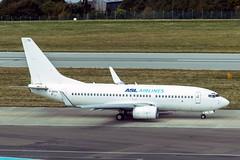 F-GZTU Boeing 737-73V(WL) (Jersey Airport Photography) Tags: fgztu boeing 73773vwl b737 egjj jer aslairlinesfrance