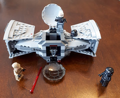 Tie Advanced Prototype Starfighter (f8shutterbug) Tags: idb starwars tieadvancedprototypestarfighter toy lego model