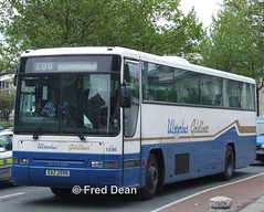 Ulsterbus 1596 (EAZ2596). (Fred Dean Jnr) Tags: ulsterbus volvo b10m plaxton premiere 1596 eaz2596 busarus dublin may2006 bus coach goldliner