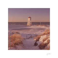 Fog Horn #2 (jrobfoto.com) Tags: bealpha sand landscape sunset water sony foghorn michigan beach alpha bigsable tumblr winter shore lighthouse twitter coast a7riv snow ludington unitedstatesofamerica