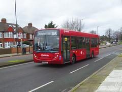 AL ENL83 - GN08CGX - ELTHAM HILL - SAT 15TH FEB 2020 (Bexleybus) Tags: tfl route south east london eltham hill se9 yorkshire grey arriva adl dennis enviro 200 b15 enl83 gn08cgx