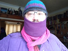 Photo of wrapping up warm!