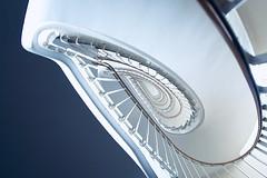 Teardrop (kuestenkind) Tags: treppenhaus staircase stairs weitwinkel fisheye canon 6d 12mm wallimex northgermany norddeutschland teardrop