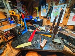 My journey to becoming full time knife maker.   Smash that like and SUBSCRIBE              #knifemaking #knifemaker #knives #handmade #knifelife #knifecommunity #customknives #knifenut #bladesmith #edc #blade #handmadeknives #bushcraft #knifecollection #h (jawaad.davids) Tags: southafrica knifemaker cheflife sachefs inspiration knifenut sales blade capetown bushcraft productivity customknives socialnetworking handforged handmade creativity knifemaking knifecommunity personaldevelopment bhfyp edc truecook kitchenknife chefofinstagram knives chef entrepreneurship food chefknife knifecollection bladesmith japanesekitchenknives knivesofinstagram success knifelife handmadeknives