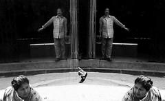 (sharmi_diya06) Tags: reflections reflection street streetphotography streetphot abstract blackandwhite people man woman light morning action outside letsexplore natgeoyourshot natgeophotographers natgeophotographer yourshotnatgeo