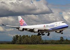 B-18708 Boeing 747-409F China Airlines (Keith B Pics) Tags: b18708 chinaairlines b747400 alaska panc anc anchorage keithbpics boeing b747 cargo