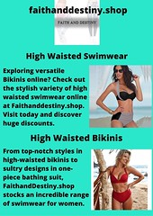 High Waisted Bikinis (faithanddestinyonline) Tags: tote bag for women best printed leggings