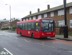 AL ENL3 - LJ07ECV - EYNSHAM DRIVE ABBEY WOOD ESTATE - SAT 15TH FEB 2020. (Bexleybus) Tags: abbey wood estate se2 enl3 lj07ecv 469 tfl route south east london arriva adl dennis enviro 200