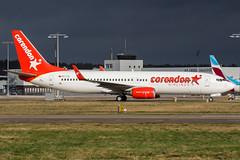 TC-TJI (PlanePixNase) Tags: hannover aircraft airport planespotting haj eddv langenhagen plane corendon boeing 737 b738 737800 738
