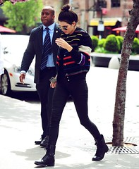 May 7th 2014 Arrived at her hotel in New York City (kendalljenner.my.id) Tags: sensuality cute hair people fashion love portrait jenner kendall sensual girl beauty beautiful young closeup style glamour kendjenfp