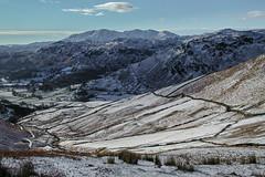 Looking Towards the Coniston Fells (Roantrum) Tags: roantrum lakedistrict cumbria seatsandal conistonfells snow