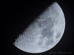 Luna. (jabedive) Tags: moon luna skywatcher olympus olympusomdem10mkii mak127 telescope telescopio