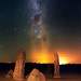 Summer Milky Way at The Pinnacles Desert, Western Australia