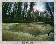 The River Meden, Up Close and Dirty! (setsuyostar) Tags: rivermeden floods pleasleyvale nottinghamshire goprohero8black winter2020 february2020 topazstudio2 kenhawley