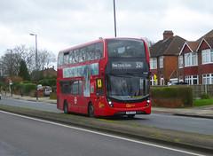GAL EH205 - YY67UTE - OSF - ELTHAM HILL - SAT 15TH FEB 2020 (Bexleybus) Tags: tfl route south east london eltham hill se9 yorkshire grey goahead go ahead adl dennis enviro mmc eh205 yy67ute 321 hybrid