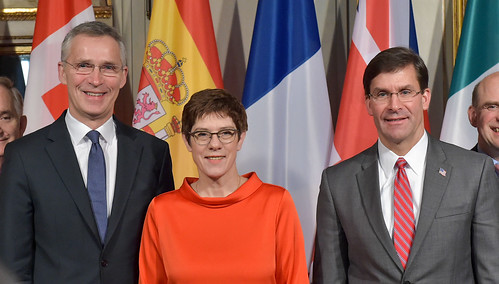 NATO Secretary General attends Defeat-ISIS Defence Ministerial Meeting in Munich