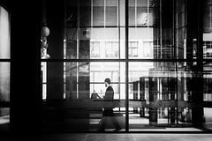 Lobby (Noir Series) (Kenneth Laurence Neal) Tags: newyorkcity cities city urban lobby blackandwhite blackdiamond monochrome monotone officebuilding contrast noir street streetphotography nikon nikond7100
