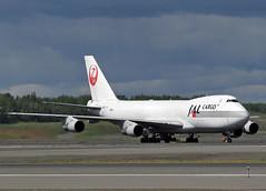 JA8171 Boeing 747-246F Japan Airlines (Keith B Pics) Tags: ja8171 b747200 jal japanairlines alaska panc anc anchorage keithbpics boeing b747 cargo