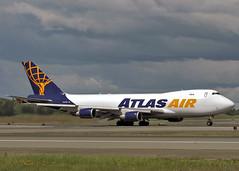 N412MC Boeing 747-47UF Atlas Air (Keith B Pics) Tags: n412mc b747400 giant atlasair alaska panc anc anchorage keithbpics boeing b747 cargo