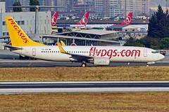 TC-IZE 737-86J Pegasus  Estambul Atatürk 22-10-16 (Antonio Doblado) Tags: tcize 737 b737 boeing pegasus estambul atatürk aviacion aviation aircraft airplane airliner
