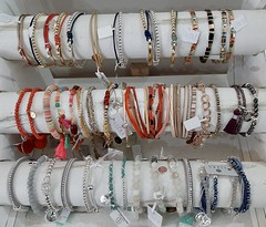 Beautiful bracelets (shirley loader) Tags: colourful bracelets jewellery 9 9of120 120picturesin2020