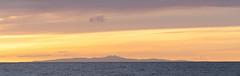 The Isle of Man at sunset (Alf Branch) Tags: sea seaside sunset isleofman cumbria clouds water wave alfbranch landscape olympus omd olympusomdem1 zuiko zuiko40150mmf28pro irishsea