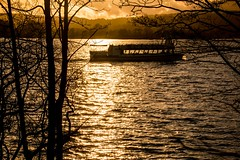 Sunset over Lake Windermere (Briantc) Tags: england cumbria lakedistrict windermere reflections sunset winter