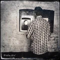 Art Watchers (Salwa Afef) Tags: art artwatchers painterly texture iphone ipad mobile iphonephotography people exhibition tintype hipstamatic slowshutter