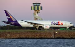N891FD (Leon Aviation) Tags: australia airport yssy sydney aircraft plane sunset fedex 777f boeing