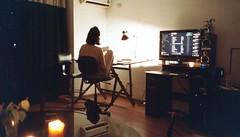 <3 (natisalvatierra) Tags: home books girlfriend teamo