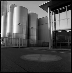 compart~mentalized (FloatingLens) Tags: 2020 architecture availablelight bw carlzeiss distagont450 film germany grain handheld hasselblad hasselblad500cm ilfostop jobo kodaktmax400 mediumformat rotationdevelopment пленка