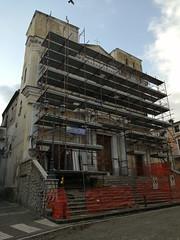 restauro facciata chiesa 1