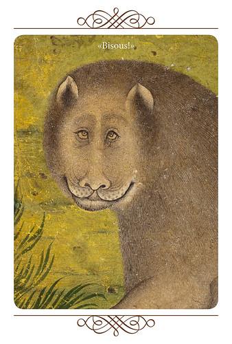 32-Carte postale // 10x15cm // Bisou