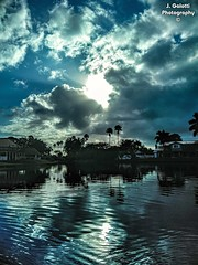 Hump Day out on the boat. (Jasongalotti) Tags: goodmorning sunrise clouds cloudy cloudphotography water lakes canals southfloridaweather sky sun sunny sunshine
