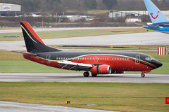 LY-KDT (hartlandmartin) Tags: lykdt klasjet boeing 737500 espanyol birmingham bhx egbb elmdon aircraft airport airline aeroplane aviation charter plane nikon d7200 70300afp