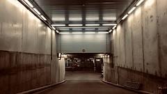 050-316 (mjlockitt) Tags: photojournal 2020 kotka finland downward lights shoppingcentre serviceaccess underground street urban