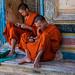 2019 - Cambodia - Siem Reap - Wat Bo Pagoda