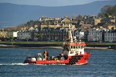 Helen Mary (Zak355) Tags: rothesay isleofbute bute scotland scottish workboat helenmary inverlussa marine ship shipping boat vessel riverclyde fishfarmvessel