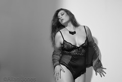 Sensuous (Allan Jones Photographer) Tags: female femalemodel lingerie sensual passion pose sensuous monochrome bw blackandwhite beauty allanjonesphotographer canon5d3 modelling fashion