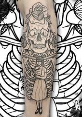 (fabio.lors@gmail.com) Tags: lorsart tattoo tatuaggio tatuaje tattooo traditional baluardoquintinosella blackwork baluardo resurrection religion skull fabiocesti ink inknovara illustration italia italy inked linework novara novaraink