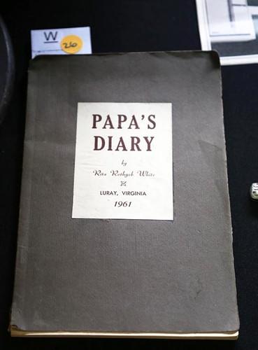 1961 Luray, VA Diary ($106.40)