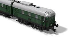 DB BR V188 (Bricks-on-Rails) Tags: db lego moc lokomotive locomotive loco loko diesel diesellok v 188 v188 deutsche bahn d 311 d311 custom train eisenbahn railroad